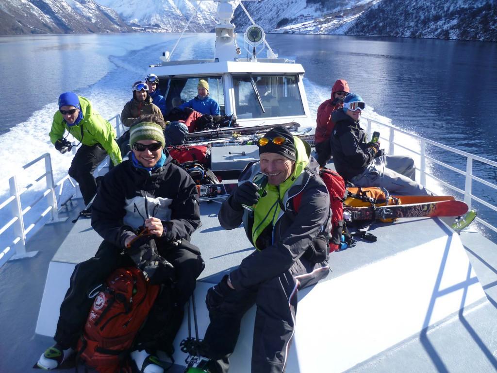 Skitouren an den schönsten norwegischen Fjorden