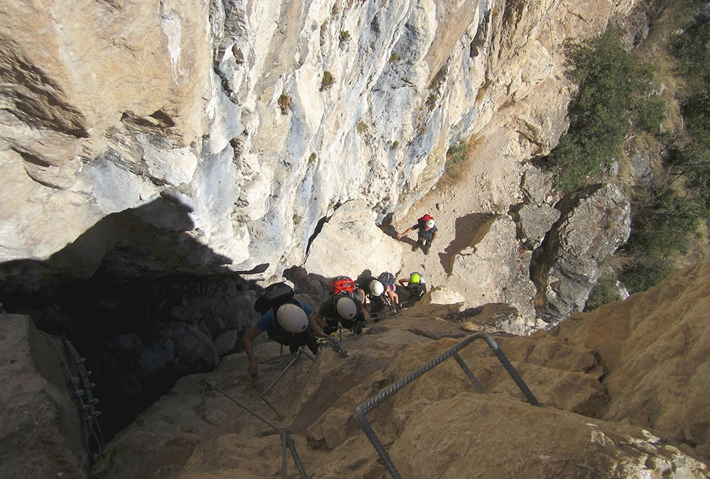 Klettersteige am Gardasee