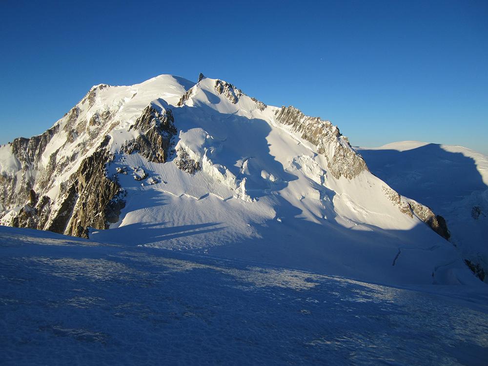 Mont Blanc 4.808 m Skibefahrung